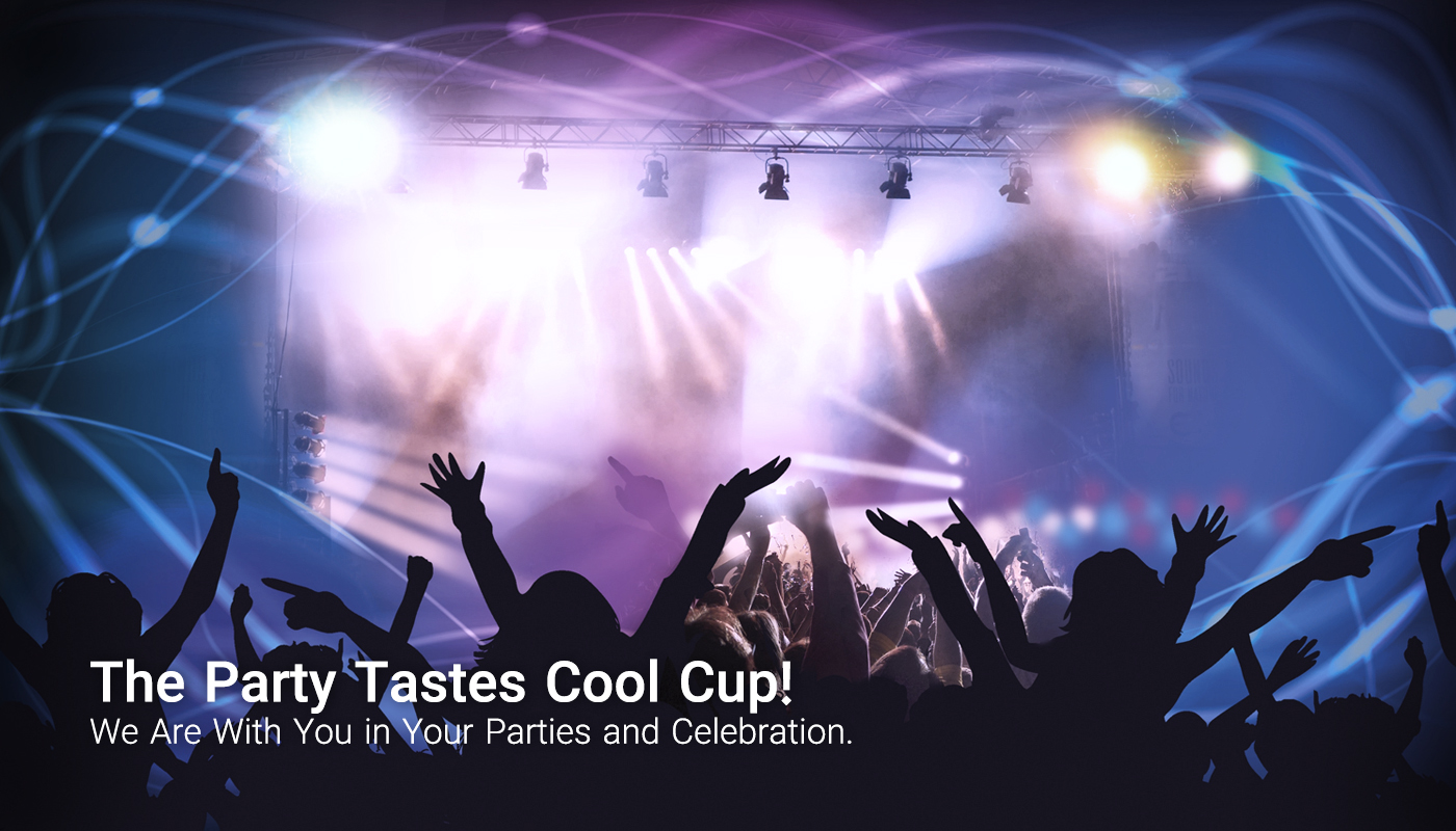The party tastes Cool Cup!